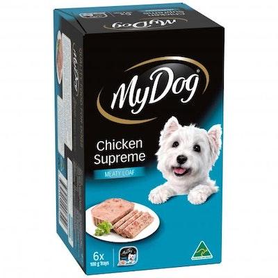 My Dog Chef Select Chicken Supreme Wet Dog Food 6x100G