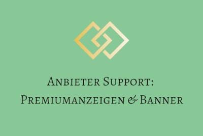 Anleitung - Premiumanzeigen & Banner