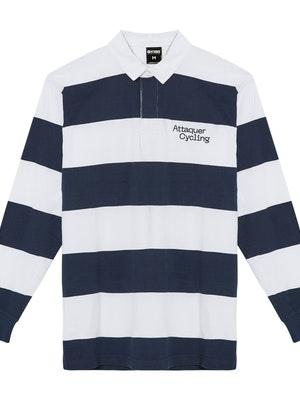 Attaquer Machina Rugby Shirt Navy