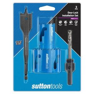 Sutton 3 Piece Cobalt Lock Installation Kit