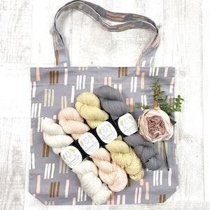 Hand Dyed Alpaca Yarn Gift Pack