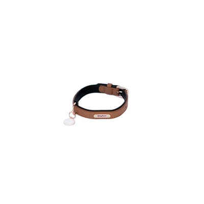 Zippy Paws Legacy Collection Collar - Brown Small