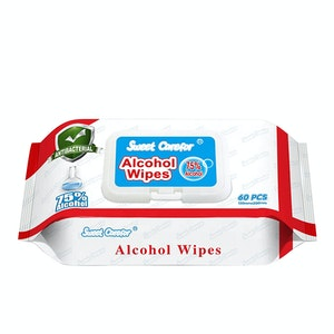 60 Pack x 75% Alcohol Wipes