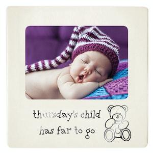 Dakota Baby Photo Frame Thursdays Child