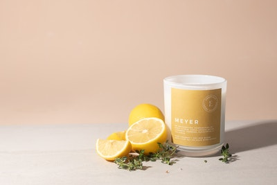 Emberfield MEYER Luxury Candle 280g 50 + hour Burn Time | Signature Organic Coconut / Soy Wax Blend, Vegan Friendly, Phthalate Free