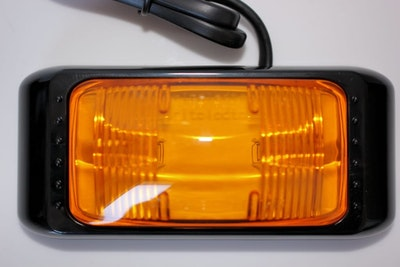 Amber Side Marker LED Multivolt Large Size