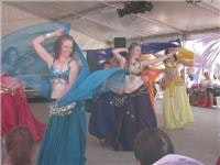 Belly Dancers at the Folk Festival 2010