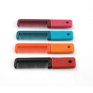 Premier Equine Plastic Mane Comb with Handle - Small