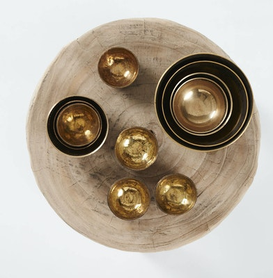 Global Sisters Shop Brass Bowls - Small