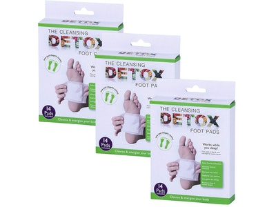 Boutique Medical The Cleansing Detox Foot Pads Health Care Natural Herbal - 42 Pads Bulk Pack