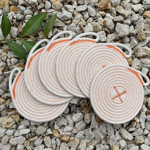 Set of 6 Rope Coasters