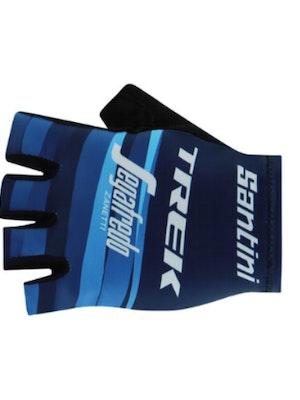Santini Trek Segafredo Gloves WMN Blue