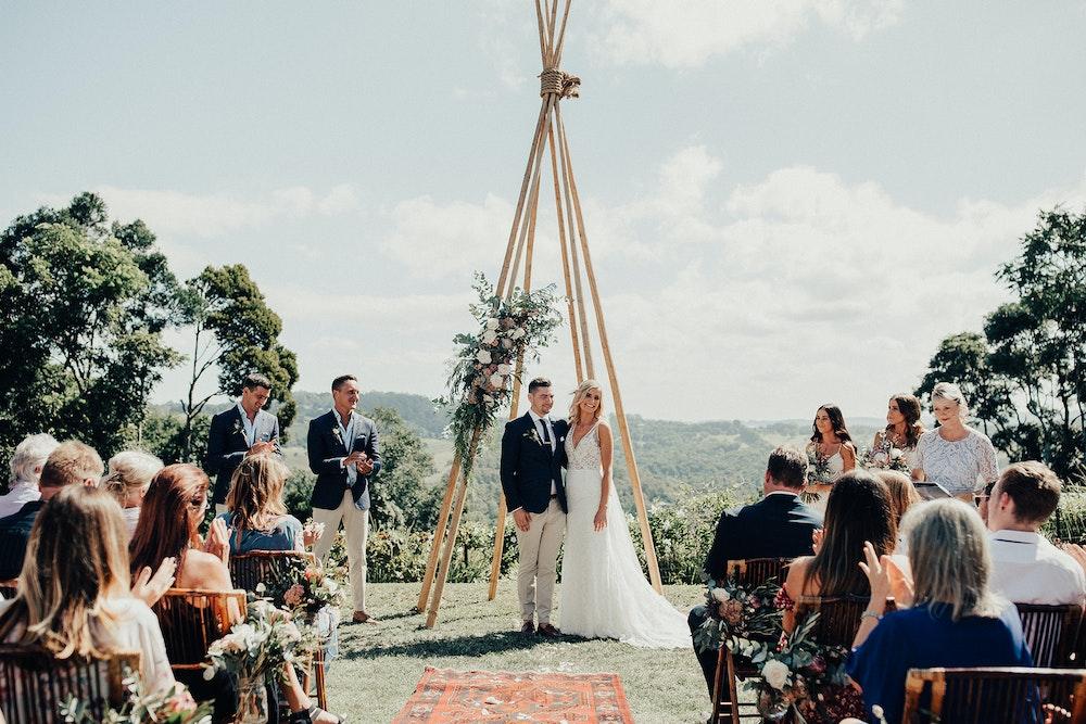 Michelle Shannon Byron Bay Celebrant Wedding