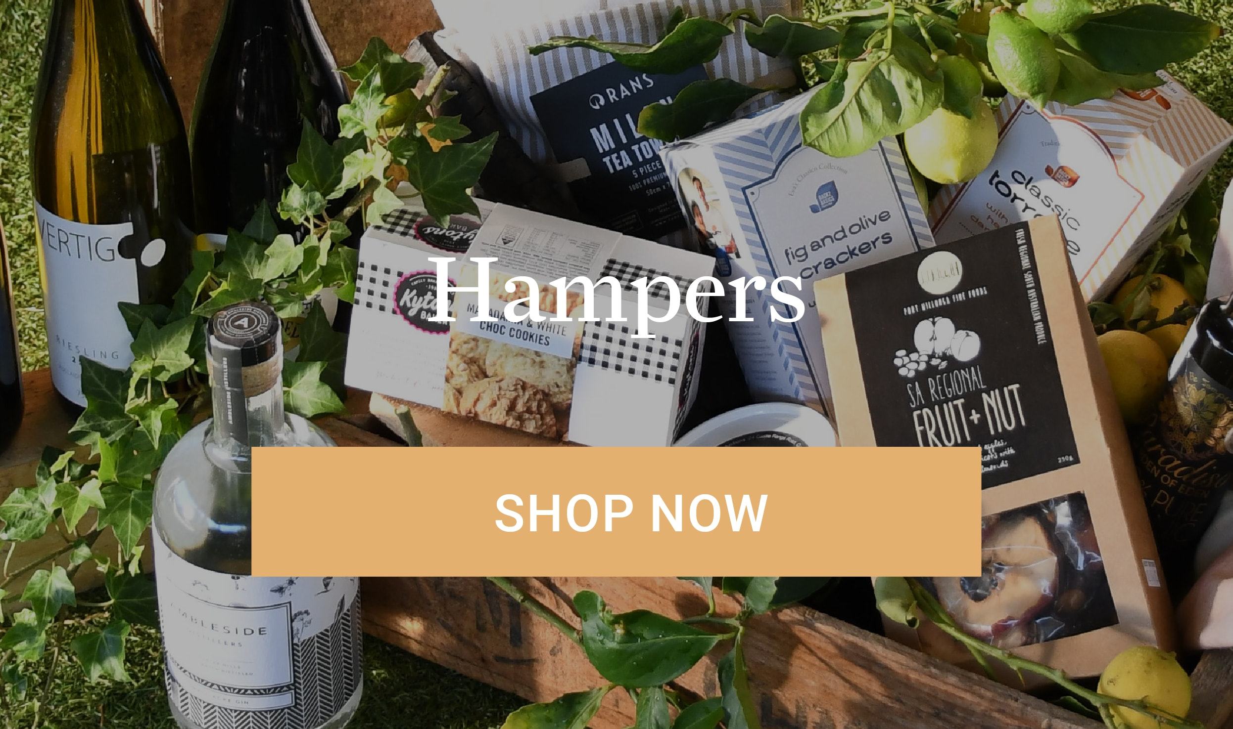 Toast the Locals Hampers Shop Now