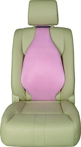 Universal Air Filled Multi Purpose Lumbar Back Support | Suede Pink