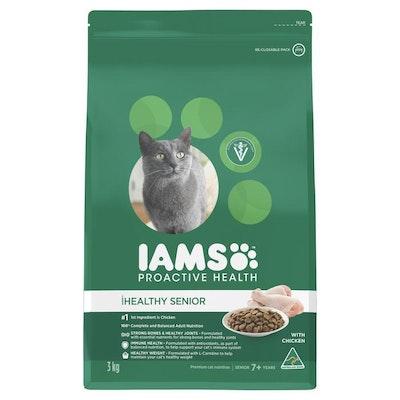 Iams Healthy Senior Chicken Dry Cat Food
