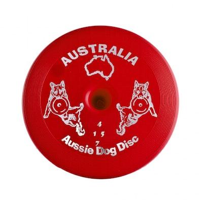 Aussie Dog Disc Hard - Red