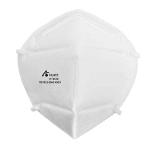 1000 x GB2626-2006 KN95 Huate HT9510 disposable particle filtering half masks with headloop
