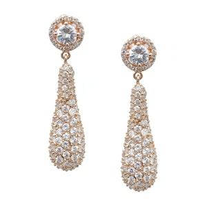 Marilyn wedding earrings