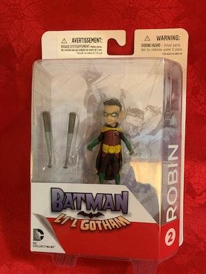 Batman - Robin Li'l Gotham Mini Figure - New