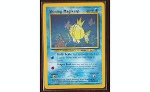 Pokemon TCG Shining Magikarp Neo Revelations Holo #66