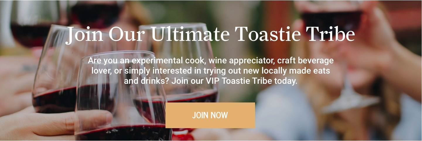 Join the Toastie Tribe Banner