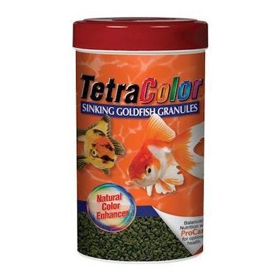 TetraColor Goldfish Granules - 100g