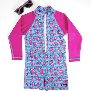 TicTasTogs NEW! Adventure Sunsuit | Squid-gy!