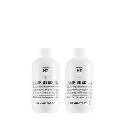 HOUNDZTOOTH Hemp Seed Oil Duo Pack