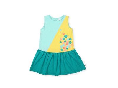 OETEO Australia Urban Kids Colourblock Dress (Green)