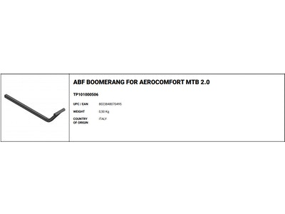 Scicon ABF Boomerang For Aerocomfort MTB 2.0