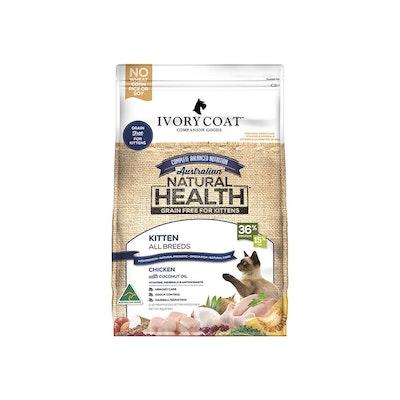 IVORY COAT Grain Free Cat Food Kitten Chicken 3KG