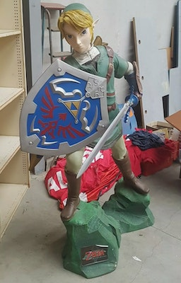 Life Size Link Statue