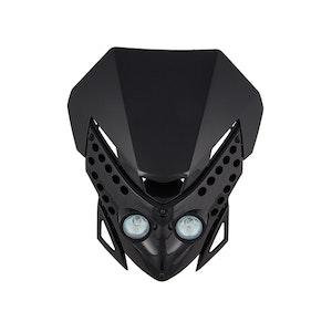 Viper Motocross Front Headlight - Black