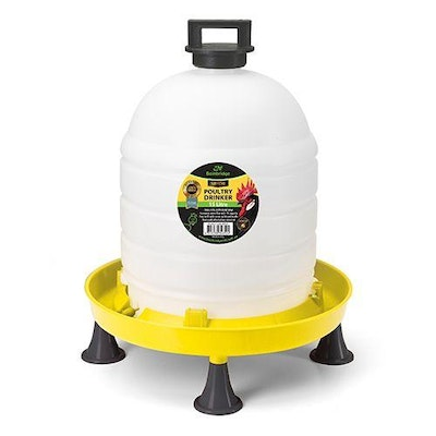 BAINBRIDGE Supreme Poultry Drinker with Top Fill Lid and Handle – 15L