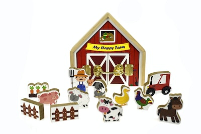 Kaper Kidz METAL LATCH PLAYSET - FARM