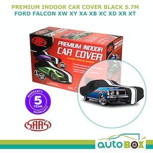 SAAS BLACK XL SHOW CAR COVER INDOOR DUST FORD FALCON XW XY XA XB XC XD XR XT 5.7m