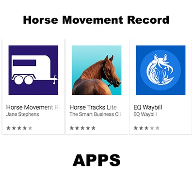 Apps for Managing your Horse Movement Records (for moving horses into and within Queensland)