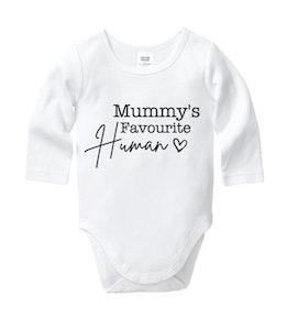 Mummy's Favourite Human Onesie
