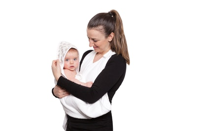 Hands Free Baby Bath Towels