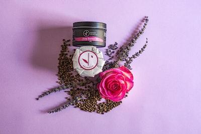 Hemp Collective  Natural Hemp Shampoo Bar with Lavender & Rose Geranium
