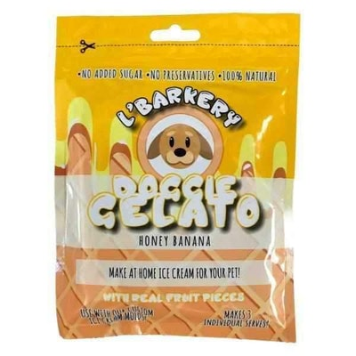 L'Barkery Doggie Gelato - Honey & Banana
