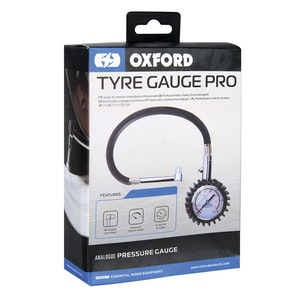 Oxford Tyre Gauge Pro (dial type)0-60psi