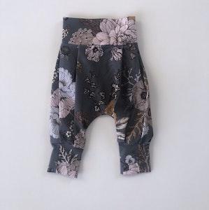 Earth Floral Night Harem Pants