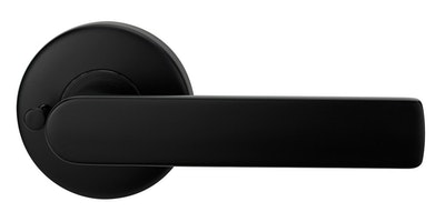 Lockwood Velocity Series Privacy Set with Element Lever Finished Matt Black