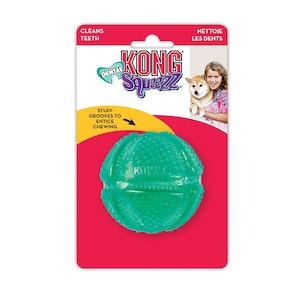 KONG Dog Squeezz Dental Ball