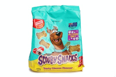 Pooch Treats Scooby Snacks Cheesy Biscuits 400g
