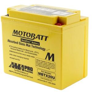 MBTX20U MotoBatt Quadflex 12V Battery