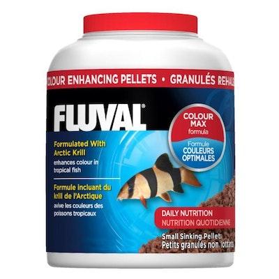 Fluval Colour Enhancing Flakes Tropical Fish Food