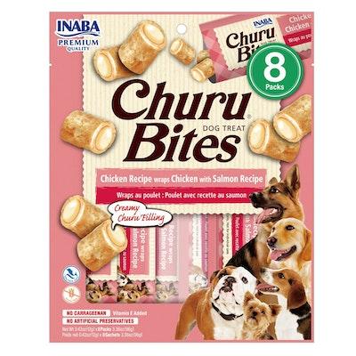 INABA Churu Bites Dog Treat Chicken w/ Salmon 6 x 96g